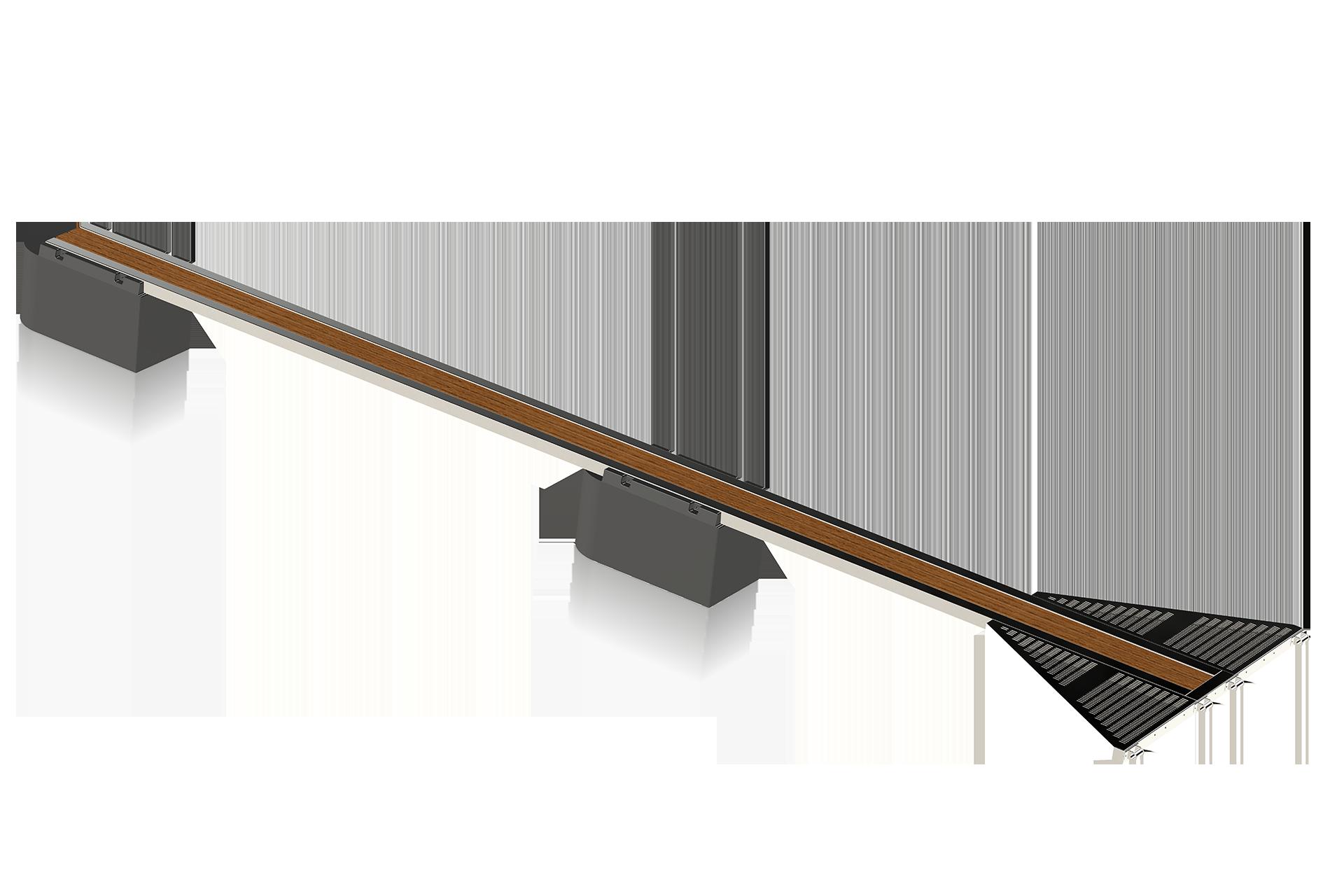Y-bom Guld 10 meter